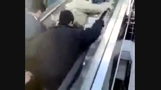 افتتاح پله برقی در خرم آباد