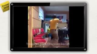 رقص دی جی حسین فسنقری جدید در تیمارستان :|  آخر خنده