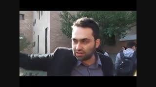 حواشی مراسم رونمایی میراث آلبرتا 2 در دانشگاه شریف