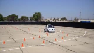 ماشین بدون فرمان و سرنشین گوگل