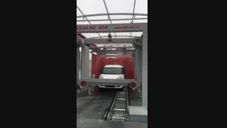 کارواش تونلی اتوماتیک, کارواش تونلی مدرن, شستشوی اتوماتیک خودرو