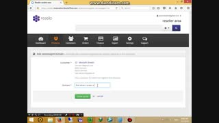 Problem in Resello ,  Problem in register a unmanaged domain!