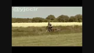 دو چرخه ای با موتور جت