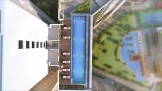 انیمیشن معماری برج های مسکونی Caragana Aveza