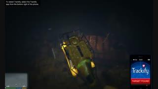 کشتی غرق شده در GTA V