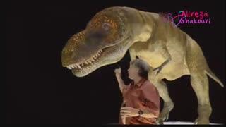 مستند زندگی با دایناسورها قسمت 1