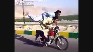 کاری که فقط یک ایرانی میتونه بکنه