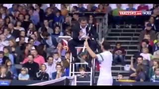 اتفاقی عجیب و نادر در تنیس