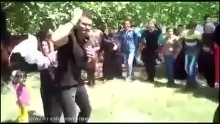 فوت آدم مست هنگام رقصیدن