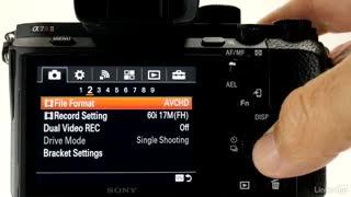 آموزش کار با دوربین سونی آلفا Sony Alpha a7