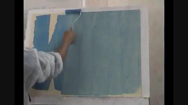 انواع ابزار پتینه و پتینه کاری (ایجاد طرح های مختلف روی دیوار)