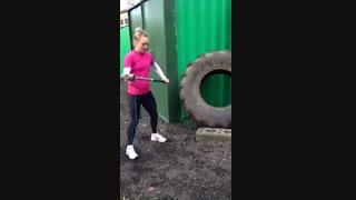 تمرین بدنسازی -  سالی کانوی - قهرمان جودو