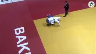 مبارزه کانوی و پولینگ در جایزه بزرگ باکو 2014