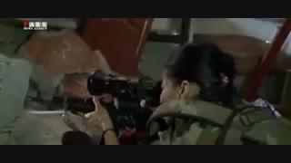 کلیپ زنان ارتش سوریه