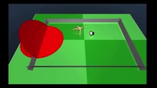 بازی فوتبال هوش مصنوعی گوگل از طریق یک مورچه مجازی [تماشا کنید]