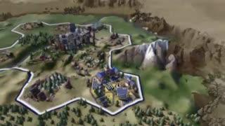 ویدیو  اول بازی Civilization VI | گیم شات