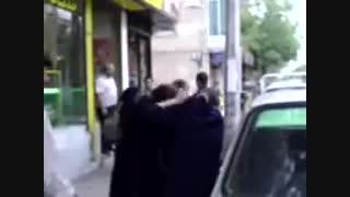 دعوای دخترا در تهران