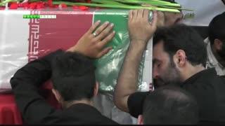 تشییع پیکر شهید مدافع حرم مهدی بیدی