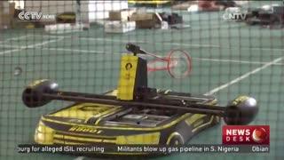 چینی ها رباتی را برای بازی بدمینتون توسعه دادند که اغلب ضربات را پاسخ می دهد