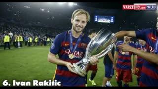 تغییر چهره 11 بازیکن بارسلونا در گذر زمان