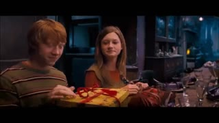 Harry Potter and the Order of the Phoenix - christmas scene