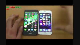 ویدئوی بررسی مقایسهای p9 و iPhone 6S-پارسیس موبایل