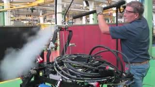 شوینده صنعتی تجهیزات صنعتی, شستشوی چربی های صنعتی ماشین آلات, بخارشوی