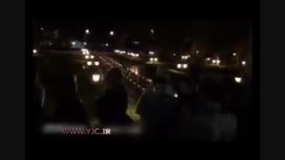 روشن کردن شمع توسط هنرمندان در موزه سینما به یاد عباس کیا رستمی