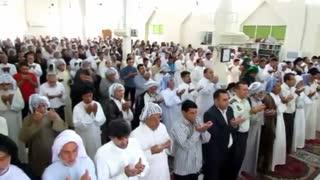 نماز عید فطر به طور باشکوه در شهر بستان برگزار گردید