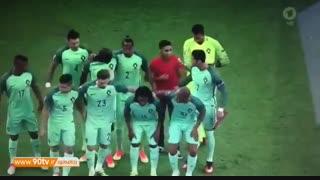 سلفی توپجمعکن با رونالدو و خرابکردن عکس تیمی پرتغال