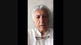 پیام رضا کیانیان برای دعوت مردم به بدرقه با کیارستمی