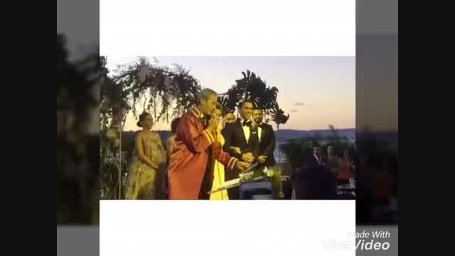 ازدواج نسلیهان آتاگل عروسی نسلیهان اتاگل (نیهان کاراسودا) - نماشا