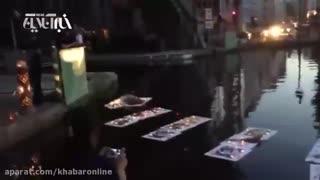 آخرین شب عباس کیارستمی درکنار رود سن