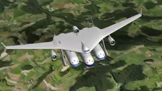 طرحی مفهومی از ترکیب قطار و هواپیما