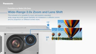 پروژکتور لیزری جدید پاناسونیک PT-RZ570