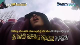 سونگ کیو توی شهربازی-وای بدبخت قلبش درد گرفت-اخه شما مریضید بدبختو به زور میفرستید این بازیا؟؟؟؟(توضیحات)