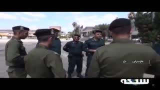 لحظه دستگیری سارقان بانک ملی مازندران