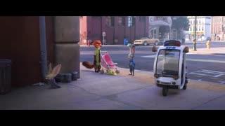لحظات خنده دار انیمیشن Zootopia