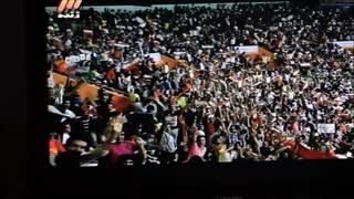 شادی ایرانیان در پیروزی والیبال