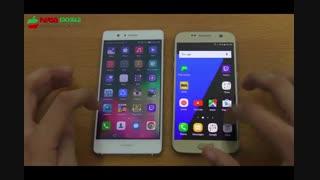 تست سرعت  Huawei P9 Lite vs Samsung Galaxy S7 - پارسیس موبایل