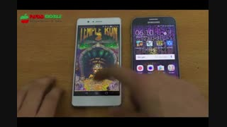 تست سرعت Huawei P9 Lite vs Samsung Galaxy S6 - پارسیس موبایل