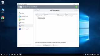 آموزش ESET Smart Security 15 بخش SysInspector