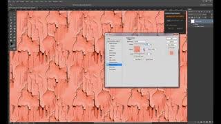 اموزش استفاده از پلاگین  free seamless texture generator در فتوشاپ