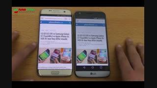 بررسی مقایسه ای LG G5 و Samsung Galaxy s7 Edge
