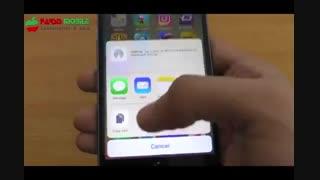 بررسی IOS 10 روی آیفو 6S
