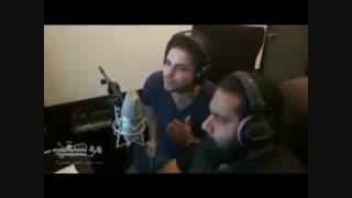 رضا صادقی و بابک جهانبخش