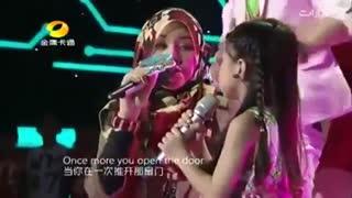 مادر و دختر کره ای میخونن خیلی قشنگه اما مادره مسلمونه دانلود خواستین بگین