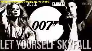 ویدئو موزیک let your sky fall از Eminem و Adele