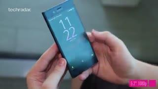 نمای نزدیک از گوشی Sony Xperia XZ