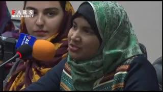 شعرخوانی زیبای خارجیها به زبان فارسی